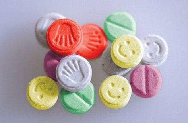 Variety Of Ecstasy Tablets