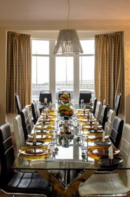 Ocean recovery dining room