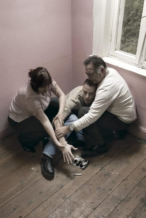 Parents Helping An Addict