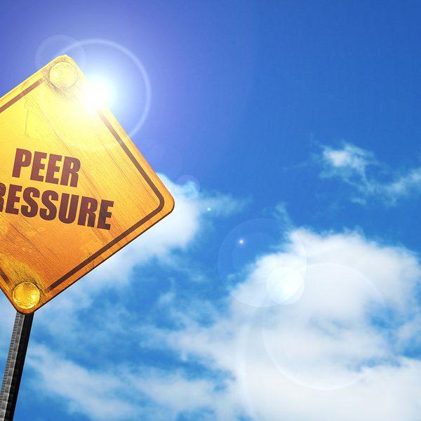 Peer Pressure Sign