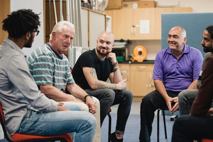 Group Therapy Sessions are undertaken as part of our Alcohol Rehab programmes
